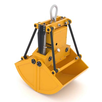 SLD electric-hydraulic bucket grabs - Clamshell