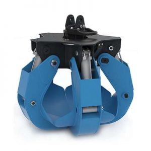 COMPACT ORANGE PEEL GRAPPLE - HYDRAULIC ORANGE PEEL GRABS - SR-P TYPE