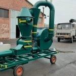 مکنده غلات ، دستگاه انتقال مواد و غلات ، مکنده و دمنده گندم ،10 تن
