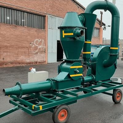 مکنده غلات 10 تن بر ساعت ، دستگاه انتقال غلات ، مکنده