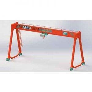 جرثقیل دروازه ای تک پل - Single Girder Gantry Cranes